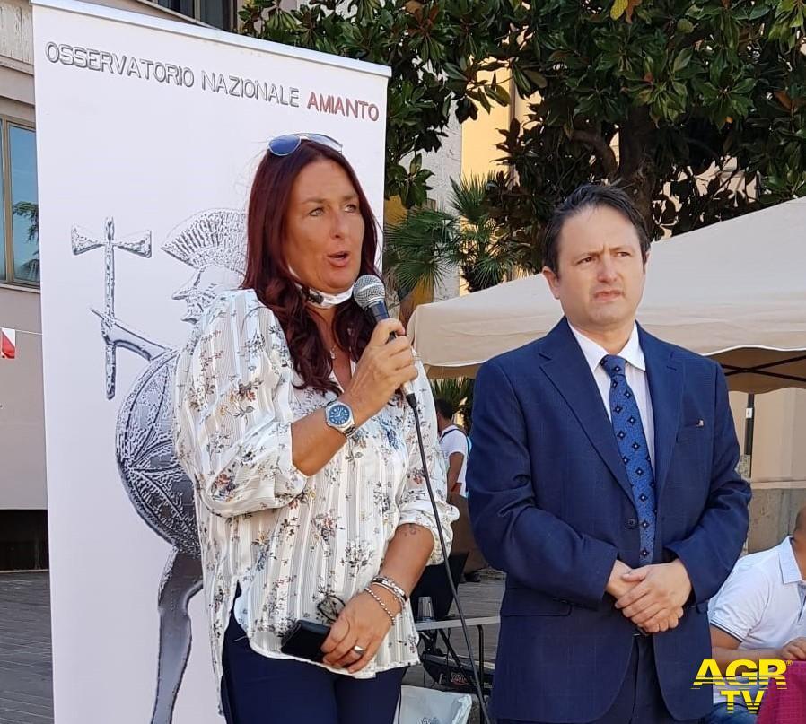 Ilenia Borace ed Ezio Bonanni ONA