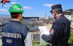 Bacino del Sarno, sequestrato stabilimento industriale di prodotti per edilizia, scaricava acque reflue nel torrente Cavaiola