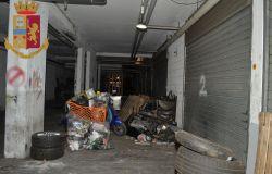 Ponte di Nona, tre pistole ed hashish nel garage abbandonato