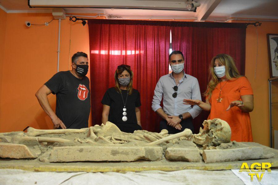 lo scheletro ritrovato