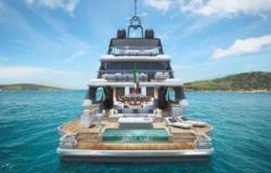 azimut benetti maxi yacht retro
