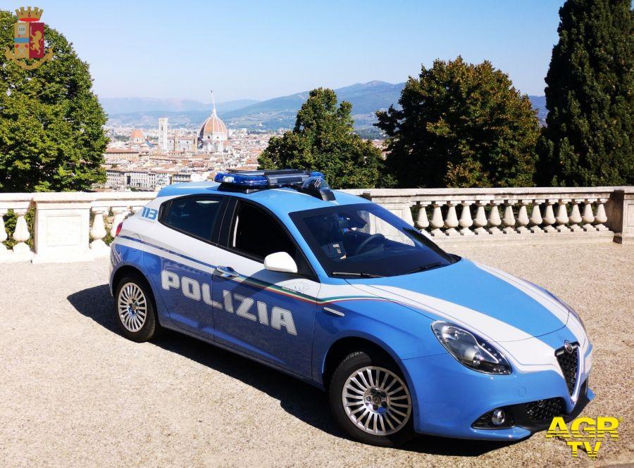 Nuove auto alla Polizia di Stato di Firenze