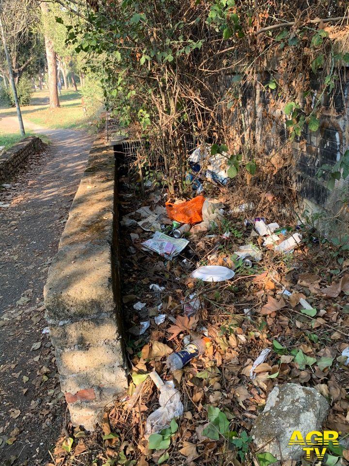 rifiuti parco ravennati