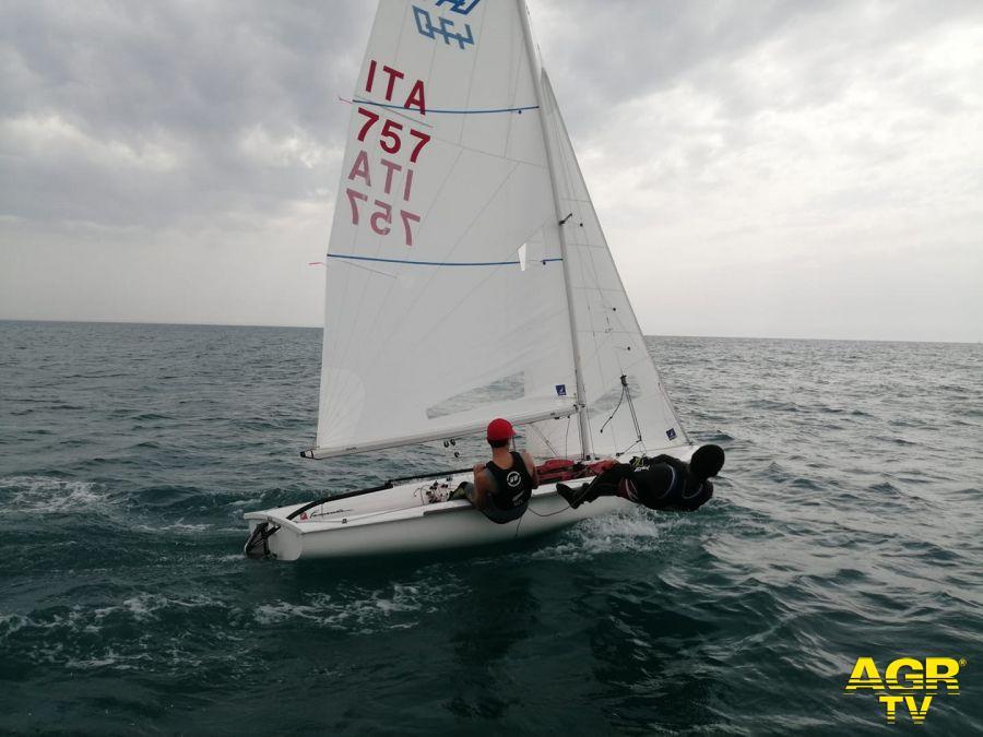 Marco Gradon 470 ai tricolori classi olimpiche