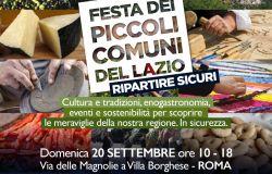 Roma, terza edizione della Festa dei piccoli comuni