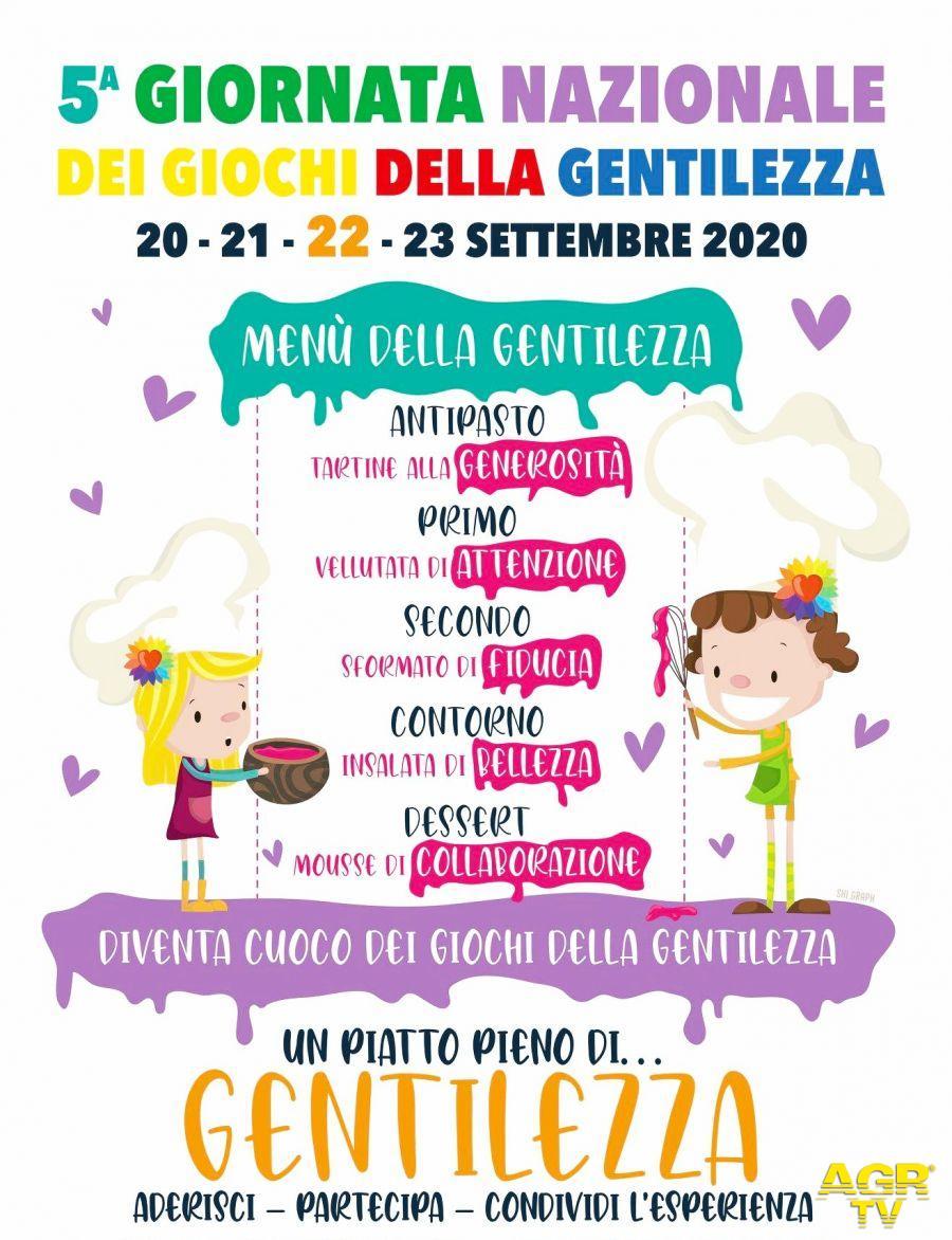 Calenzano partecipa  alla 5ª edizione della Giornata Nazionale dei Giochi della Gentilezza