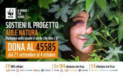Scuola dal WWF raccolta fondi per aule natura