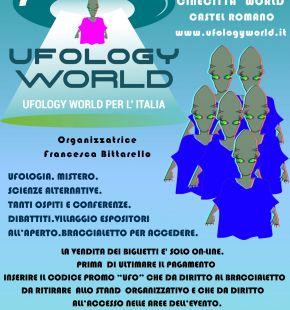 Ufology World per l'Italia, in programma il 3 e 4 ottobre a Cinecittà Word
