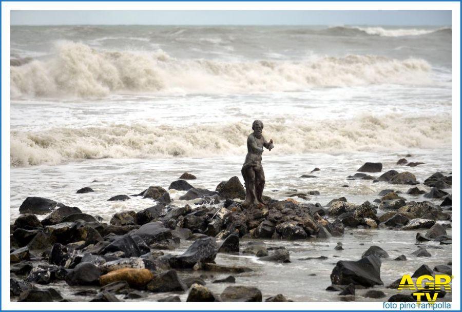 Ostia&Fiumicino, allerta gialla sulle coste per le mareggiate