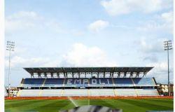 Empoli-Monza; consentito l'accesso al Castellani a 1000 spettatori
