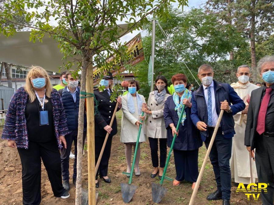 XX Festa degli alberi nelle scuole, celebrazione all'Ist. Tec. Agrario Emilio Sereni