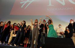 Talent legalità festa finale sul palco