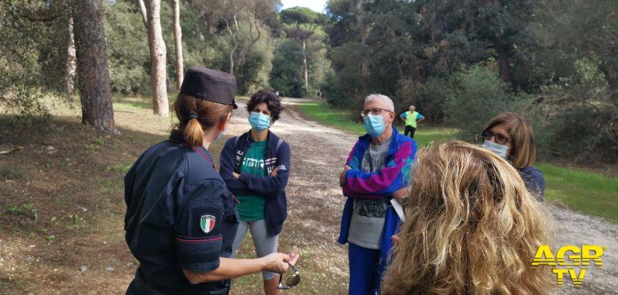 Porte aperte sulla Biodiversità....i carabinieri aprono le riserve per far vivere a tutti una giornata nella natura