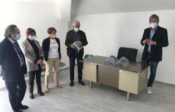 Donate 20 visiere Fablab all'ospedale di Bracciano
