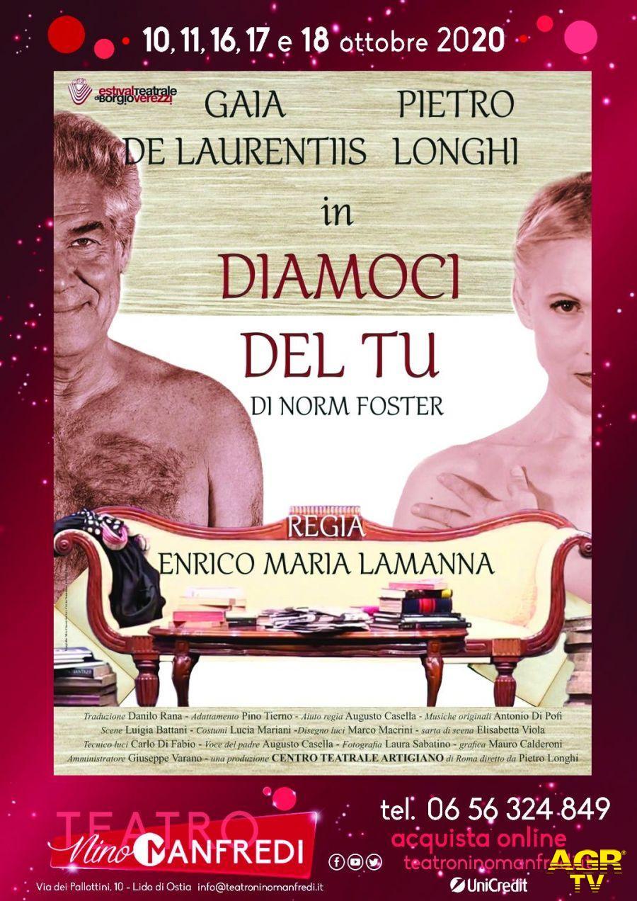 Al teatro Manfredi parte la stagione con: Diamoci del tu...