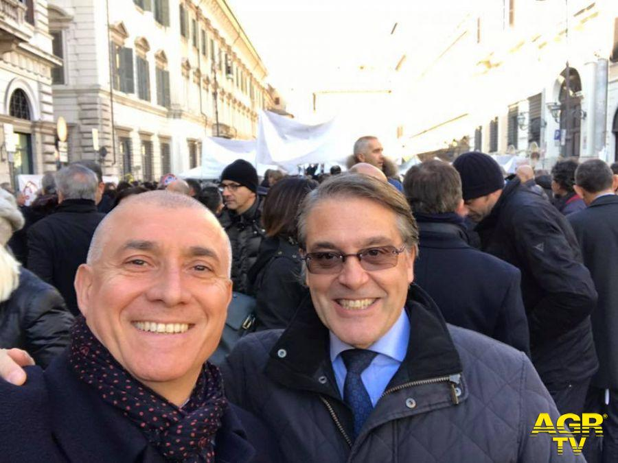 Ernesto Vetrano (a sin) e Claudio Miglio, i due professionisti di Ostia
