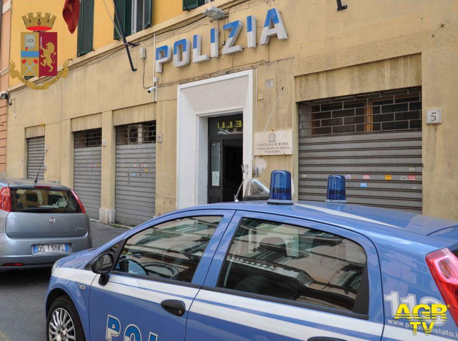 """Poliza di Stato, Esquilino. Servizio ad """"Alto impatto"""""""