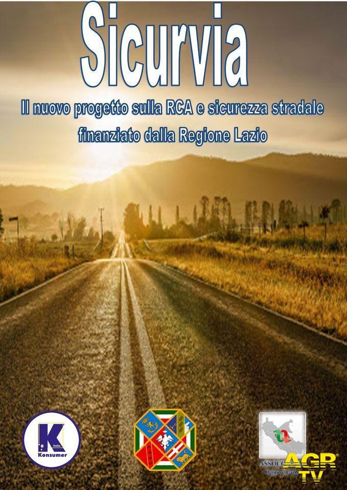 Sicurezza stradale, al via nel Lazio il progetto sicurvia