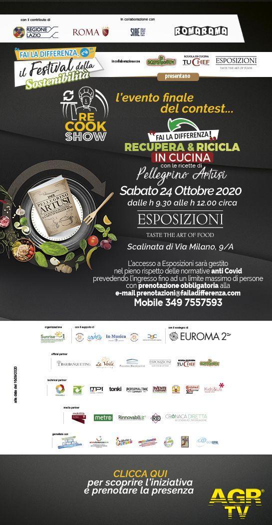 re cook show locandina