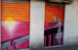 Ostia, street art contro il degrado urbano