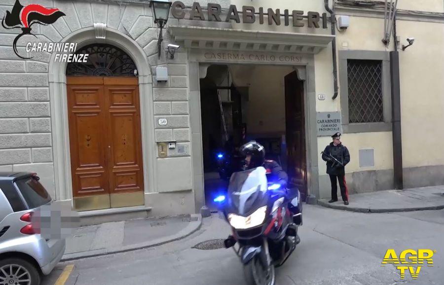 Carabinieri del Nucleo Operativo della Compagnia di Firenze