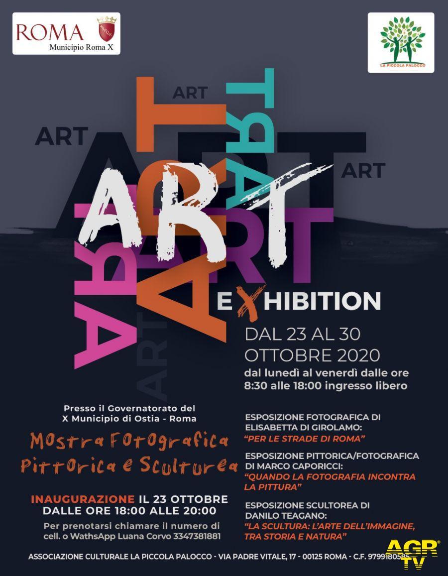Exhibition fotografia, pittura e scultura in mostra al Chiostro