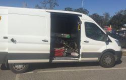 furgone danneggiato per furto