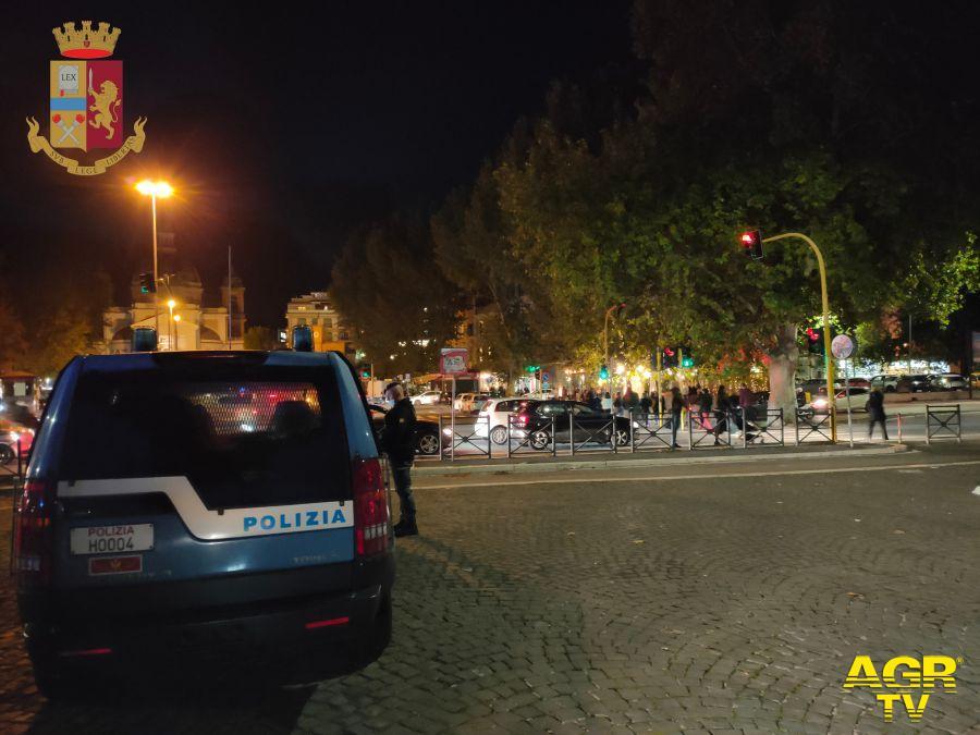 Movida, dal centro di Roma al litorale, controllate mille persone e decine di esercizi commerciali