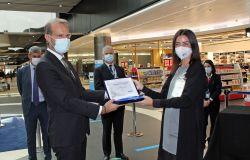 ADR, Leonardo e il viaggio premiati gli scultori del concorso internazionale