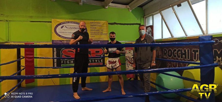 Muay Thai nella Fighting Spirit Night vince Federico Fava, campione di Fiumicino
