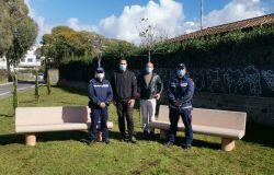 Pomezia, città più.... verde, donati nuovi alberi dalla polizia locale