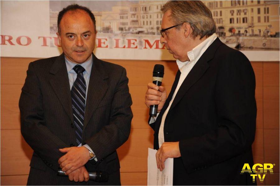 Pino Scaccia con Nicola Gratteri Procuratore Capo della Repubblica di Catanzaro