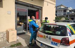 Fiumicino, riparte la solidarietà, Misericordia: servono latte e scatolame per i poveri