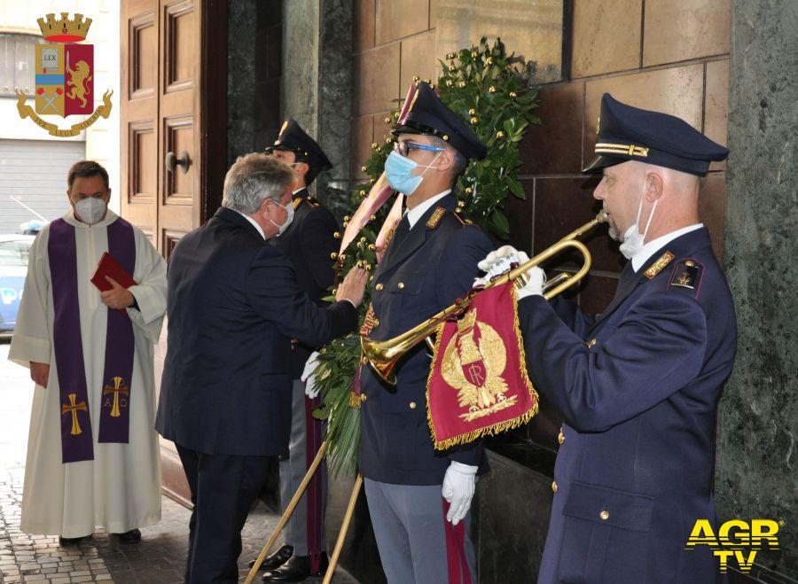 Il Questore di Roma ha reso omaggio ai caduti della Polizia