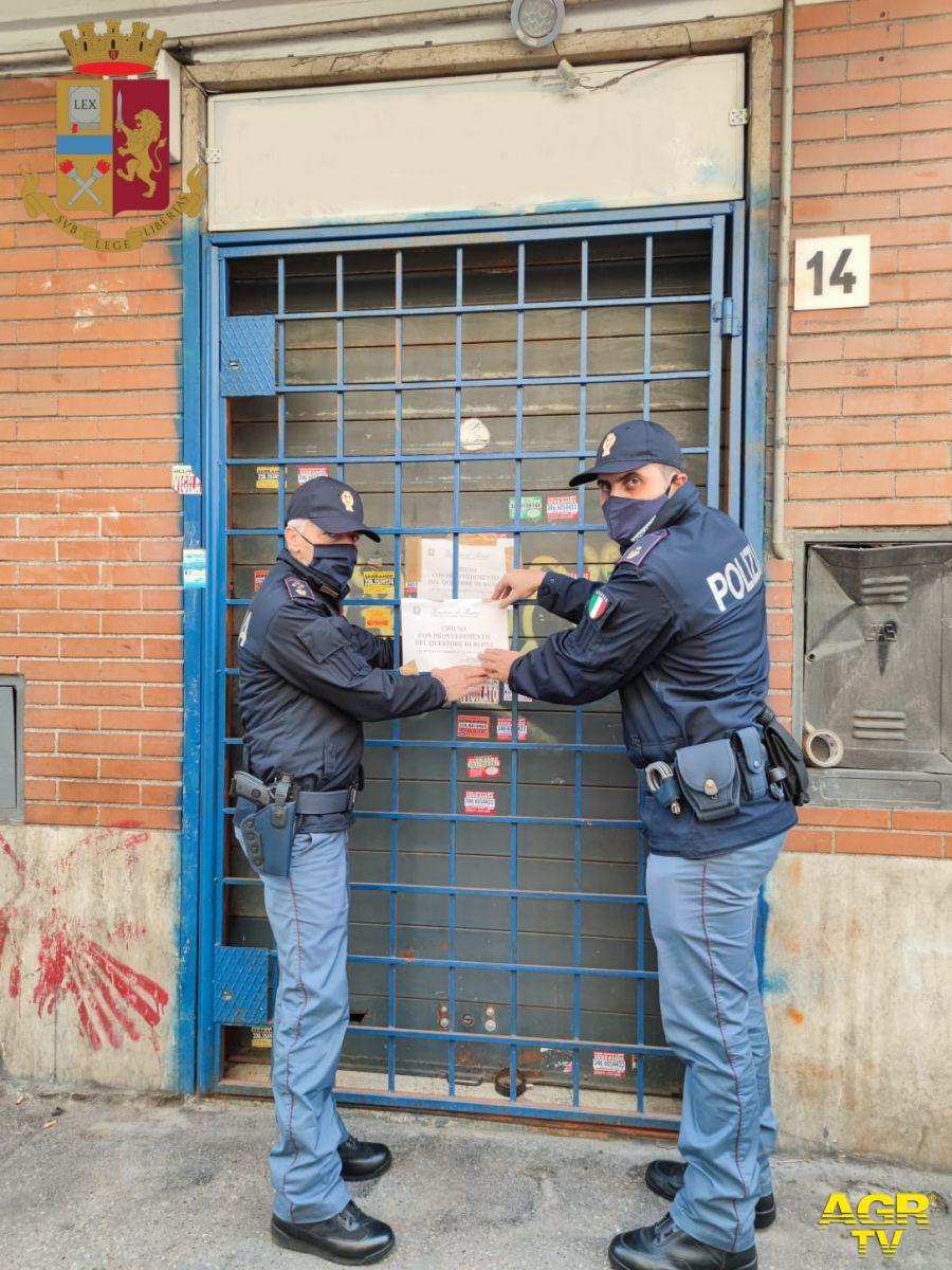 Roma, chiuso internet point, base di spaccio