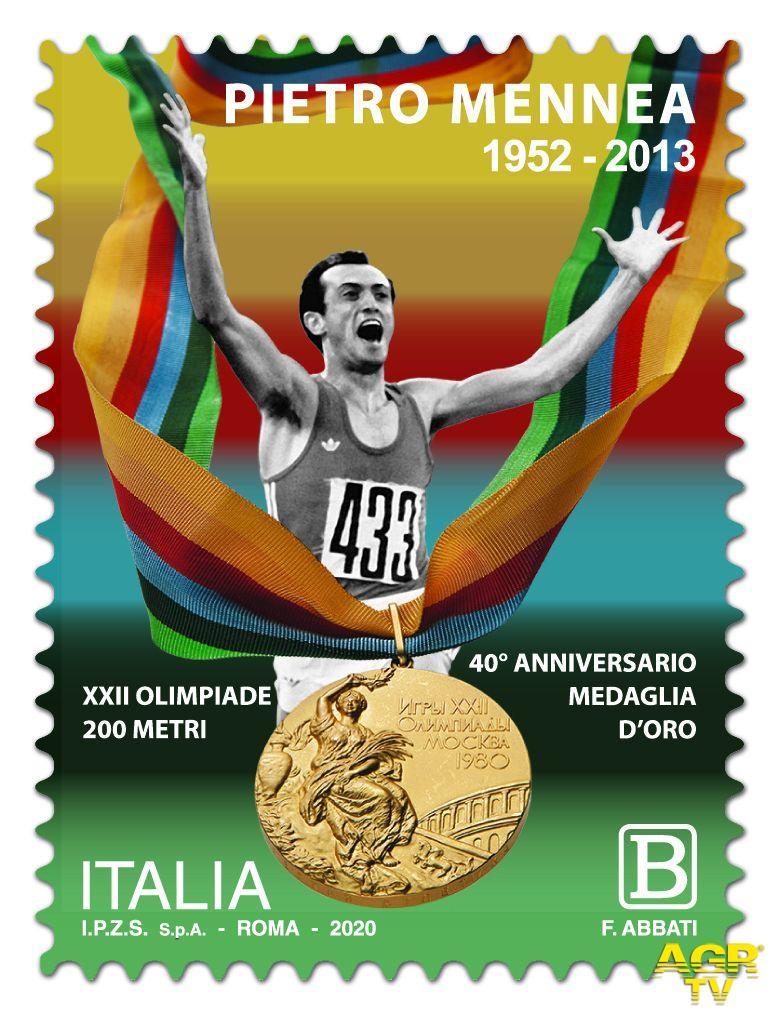 francobollo Pietro Mennea