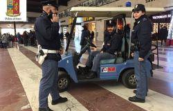 Polfer, più controlli nelle stazioni per le vacanze, dieci arresti