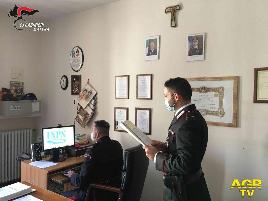 Matera, reddito di cittadinanza, i carabinieri scoprono 31 irregolari, tutti denunciati