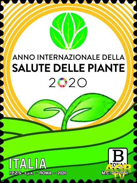 Filatelia, Anno internazionale della salute delle piante celebrato con un nuovo francobollo