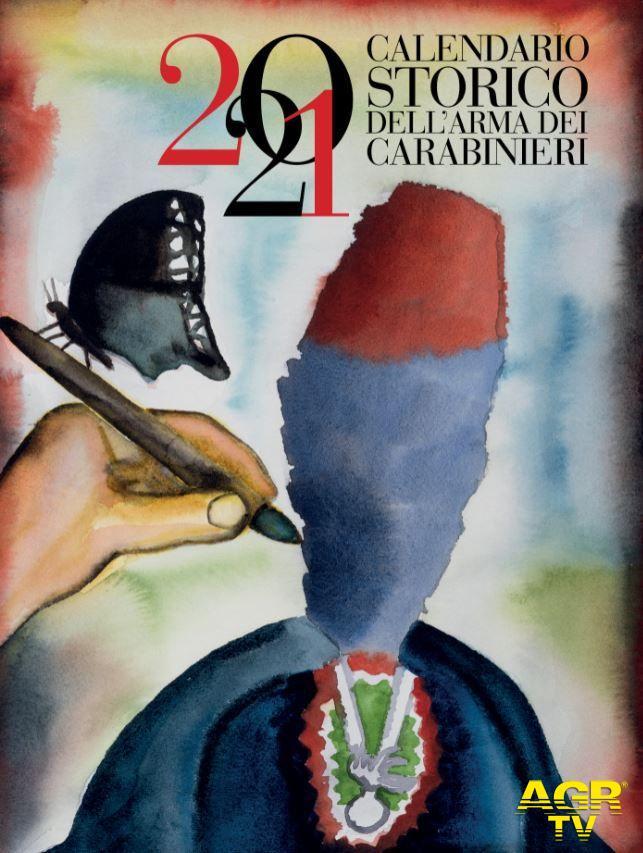 Calendario storico dell'Arma dei Carabinieri, ora anche per ciechi ed ipovedenti