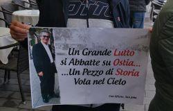 Grazie....Peppe, l'ultimo saluto di Ostia