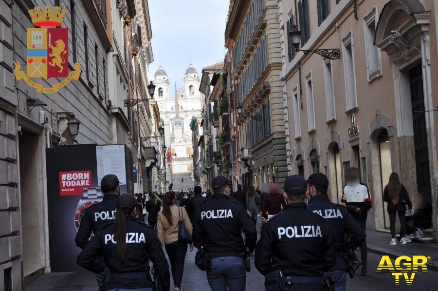 polizia controlli anticovid