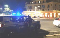 Covid-19, Ostia: Controlli della Polizia di Stato.