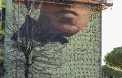 Maxi murale Gramsci a Firenze, lo dipinge Jorit