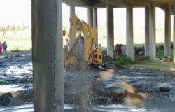Fiumicino, si va verso la normalità, l'Anas chiude il geyser