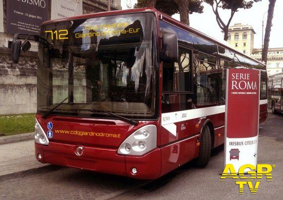 Bus 712, o.k. dell'Atac in Commissione
