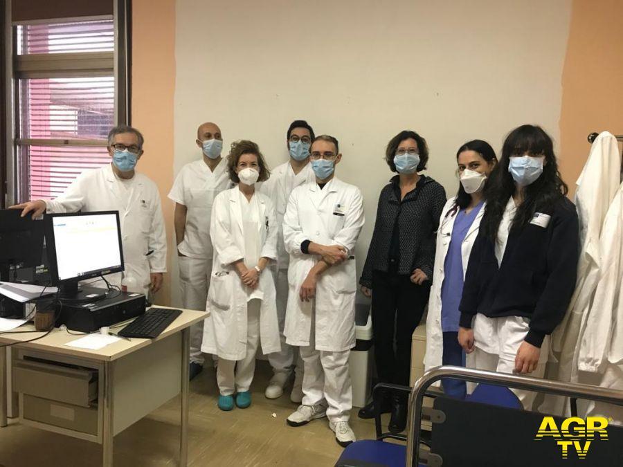 I medici del San Giovanni di Dio che hanno lavorato allo studio (Foto da comunicato)