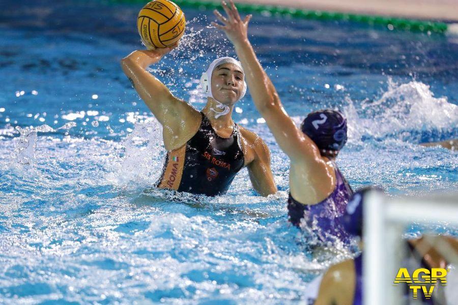 Pallanuoto, la Lifebrain Sis Roma al secondo posto nel campionato di serie A femminile