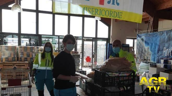 Fiumicino, gara di solidarietà per le famiglie in difficoltà per la pandemia