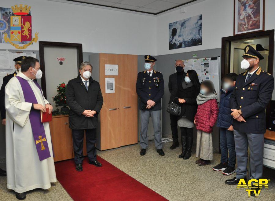 Questura di Roma, la sala riunioni intitolata alla memoria di Stefano Augimeri